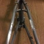 【2004 DAHON BOARDWALK】リアVブレーキ台座切除&フレーム重量測定