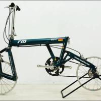 ヤフオク!|★R&M BD-2 折り畳み自転車 7速 ベルトドライブ ジャンク