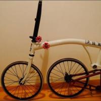 ヤフオク!|BROMPTON 外装化11速ホイール アヘッド ジャンク品