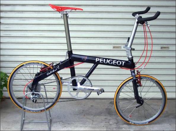 自転車の プジョー 自転車 ミニベロ : ... プジョー)コリブリ18inch
