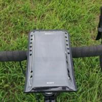 【スマホをサイコン化】【BM WORKS】 SLIM3 R 《自転車用 スマートフォン ホルダー》加工後試乗!【熱対策】