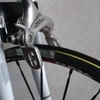 【2013 DAHON Archer】ピスト用ブレーキ取り付けプレート固定にホースバンドを購入【フロントブレーキ】