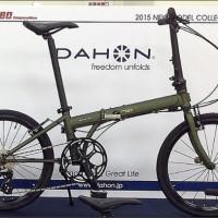 【2015 DAHON SPEED FALCO】11月下旬入荷予定だそうです( ;´Д`)【また延期】