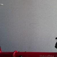 【2015 DAHON SPEED FALCO】ジェットストリーム用超ショートハンドルポスト交換【落差80mm】