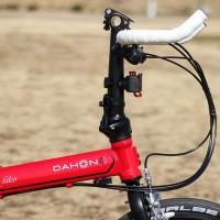 【2015 DAHON SPEED FALCO】ジェットストリーム用超ショートハンドルポスト【試乗インプレ】