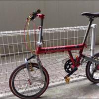ヤフオク!|【20インチ化】 プジョーパシフィック/折りたたみ自転車 BD-1