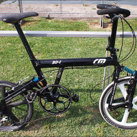 ヤフオク!|BD-1/20インチ化/折りたたみ自転車/小径車/Brompton/ピストbirdy