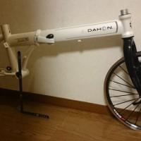 【2013 DAHON Archer】DAHON16インチ用アルミフォーク到着【装着してみました】