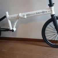 【2013 DAHON Archer】beiou16インチカーボンフォークに18インチホイールを装着【緊急事態発生!(´Д`; )】