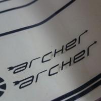 【2013 DAHON Archer】デカール貼りました【ビシッと締まった気がしますけどヽ(´Д` )どうでしょう?】