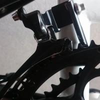 【2013 DAHON Archer】FDを仮組みしてみました【ダブル用BB軸長109.5mmでいけるのか(´Д`; )】