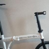 【2013 DAHON Archer】ニセモノTIOGA SPIDER TWINTAIL装着しました【落差125mmって(´Д`; )】