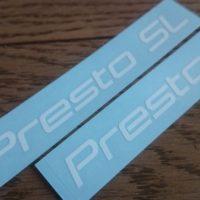 【2016 DAHON Presto SLモドキ】ステッカーを貼ってPresto SL化【これでfnhonとはバレないかと(´Д`; )】