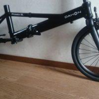 【2016 DAHON Presto SLモドキ】フロントブレーキをキャリパーブレーキ化【16インチカーボンフォークです(´Д`; )】